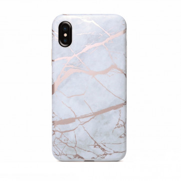 new arrival 0f930 bdef4 White Marble iPhone X XS Case