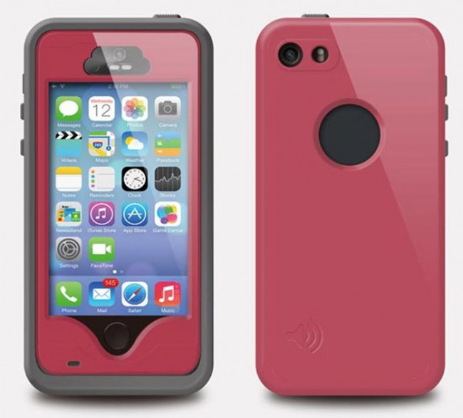 finest selection d5262 cddf0 iPhone 5s SE Waterproof Shockproof Case with Stand