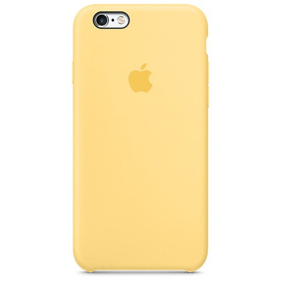 official photos 2123b a2c88 Apple iPhone 6 6s Plus Silicone Case - Yellow