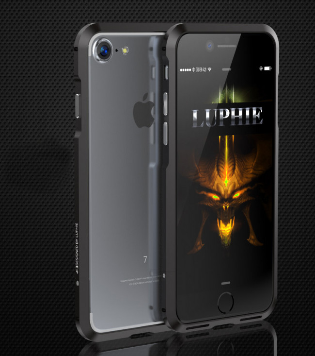 the latest cc191 ec65b Luphie Protective Stealth Bumper Metal Case iPhone 7 / 8 Plus