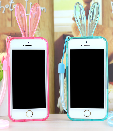 new concept 0ce88 bcbe5 Rabbit Ears Light Up Bumper Case for iPhone 6 6s