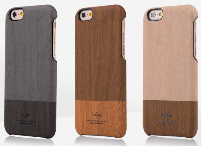 watch 13276 e18f7 Kajsa Elegant Wooden Slider Case for iPhone 6 6s
