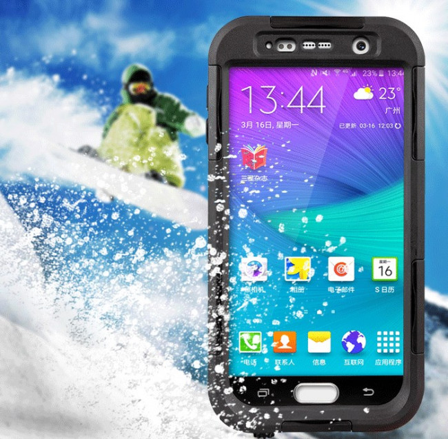 quality design f830f f29ac Galaxy S6 Waterproof Shockrproof Front and Back Protective Case