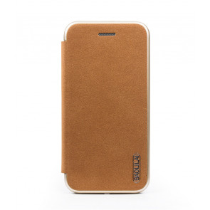 Baolilai Grain Leather Flip Wallet iPhone X Case