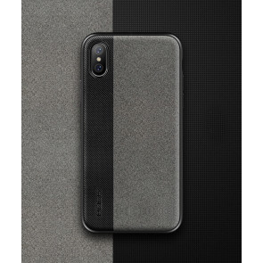 Rock Fabric Leather Case for iPhone X