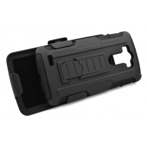 LG G4 Tough Defense Case with Belt Clip