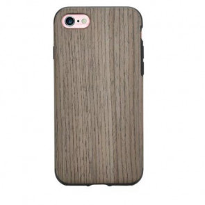 Real Wood Case with Rubber Inside For iPhone 7
