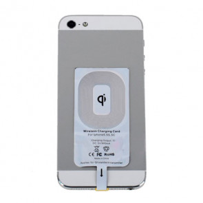 Qi Wireless Charging Mini Sticker Connecting Cable for iPhone 5 5s 5C