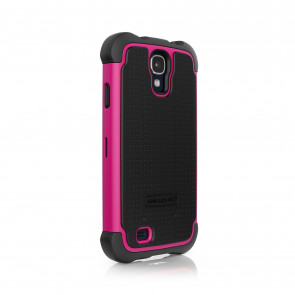 Ballistic Shell Gel for Samsung Galaxy S4 Black Pink