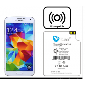 Qi Wireless Charging Receiver for Galaxy S5