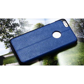 Real Leather Folio Wallet Case for iPhone 6