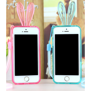 Rabbit Ears Light Up Bumper Case for iPhone 6