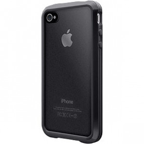 SwitchEasy Trim Hybrid Black Case for Apple iPhone 4