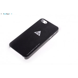 Rock Naked Shell Series Back Cover Snap Case for iPhone 5 - Black