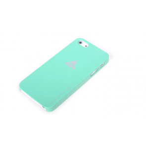 Rock Naked Shell Series Back Cover Snap Case for iPhone 5 - Green