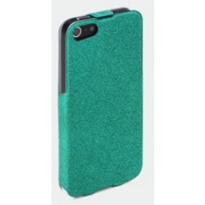 Turquoise ROCK Flip Leather Case