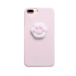 3D Soft Paw Case for iPhone X