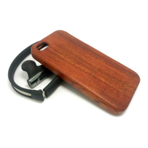 Hand Crafted Cherry Wood Slider Case for iPhone 6 Plus