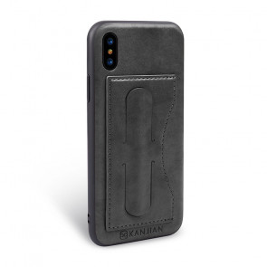 Real Leather Wallet Stand Pouch Case for iPhone X