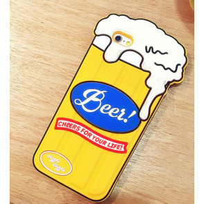 Beer Glass Shaped Silicone Case for iPhone SE 5s 5