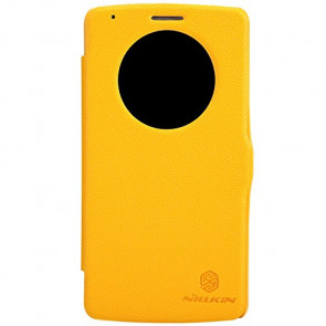 Nillkin Leather LG G3 Quick Circle Leather Case Yellow