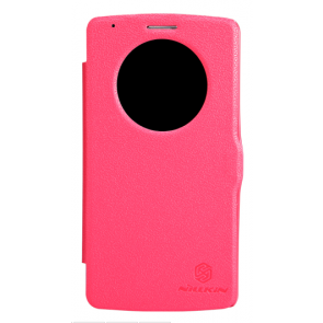 Nillkin Leather LG G3 Quick Circle Leather Case Red