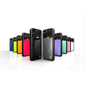Verus Damda Hard Credit Card ID Holder Case For iPhone 5C