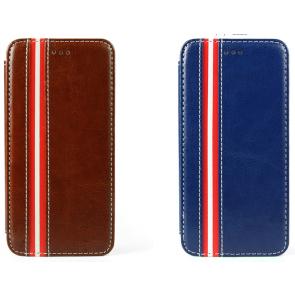 Leather Stripe Fashionable iPhone 6 Case