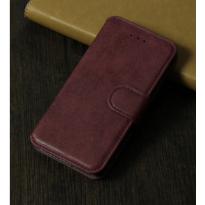 iPhone 6 Rugged Leather Wallet Credit Card Holder ID Holder Case