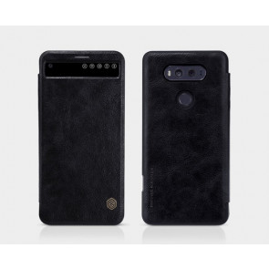 Leather Quicker Cover Case for LG V20
