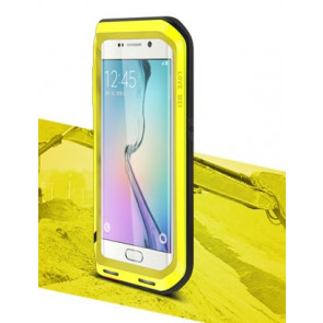 Waterproof Shockproof Case for Galaxy S6 Edge with Gorilla Glass