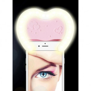 LED Selfie Beauty Heart Flash for Galaxy Note 4